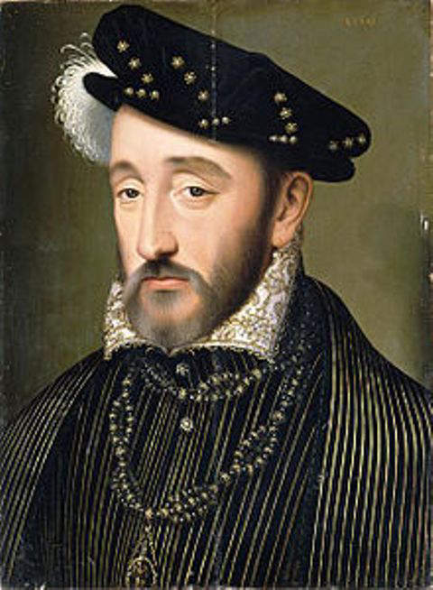 King Henry II of France - 1547 to 1559