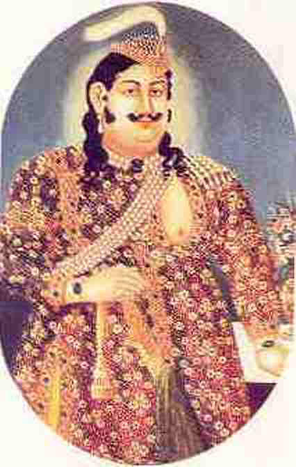 King Wajd Ali Shah of Oudh - the last king of the kingdom of Oudh