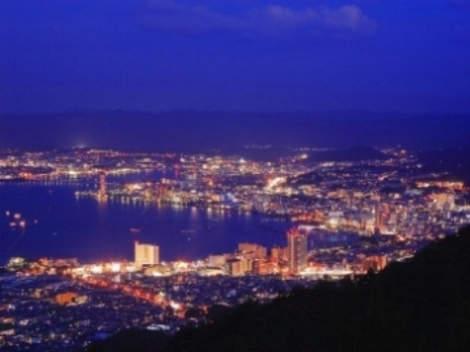 Lake Biwa and the city of Otsu