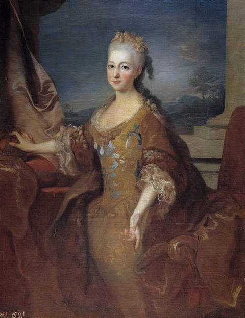 Louise Elizabeth d'Orleans - Wife and Queen consort of Louis I, King of Spain for just over 7 months