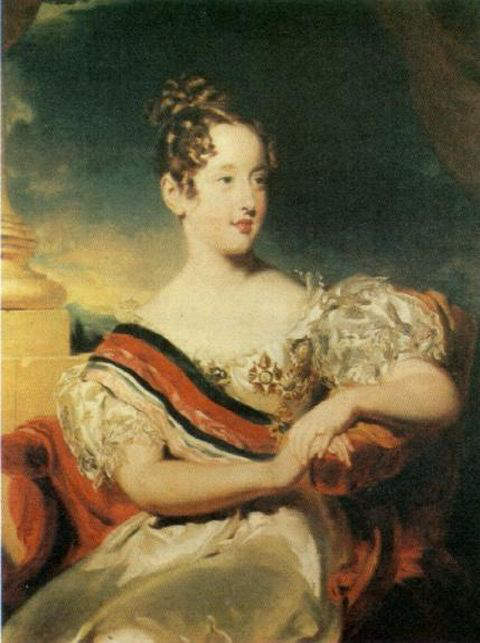 Queen Maria II of Portugal - Second Queen regnant of Portugal