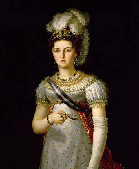 Maria Josepha of Saxony - Third wife and Queen consort of Ferdinand VII, king of Spain from 1813 to 1833