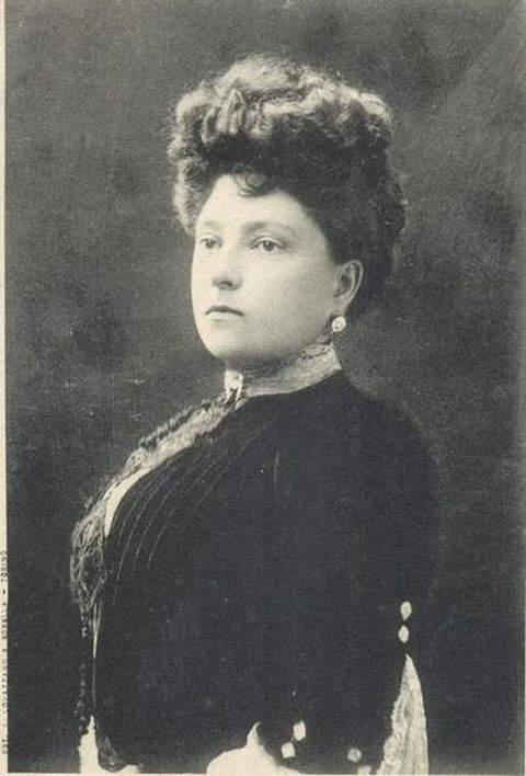 Maria Letizia Bonaparte- Duchess of Aosta and second wife of Prince Amadeo, Duke of Aosta