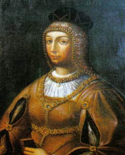 Maria of Aragon - Second wife and Queen consort of Manuel I, king of Portugal
