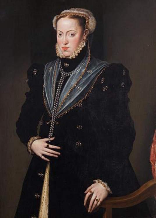 Maria of Spain - Wife of Maximillian II, Holy Roman Emperor (1564-1576)