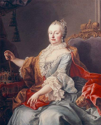 Maria Theresa - Archduchess of Austria, wife of Francis 1, Holy Roman Emperor