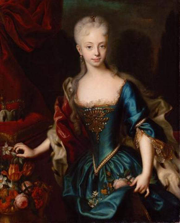Maria Theresa at the age of 10 years