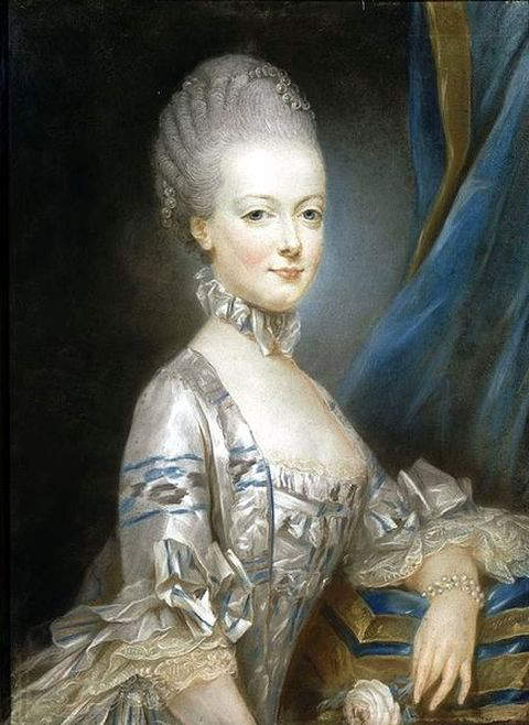 Marie Antoinette at the age of thirteen