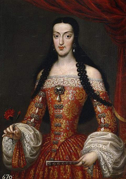 Marie Louise d'Orleans - First wife and Queen consort of King Charles II of Spain