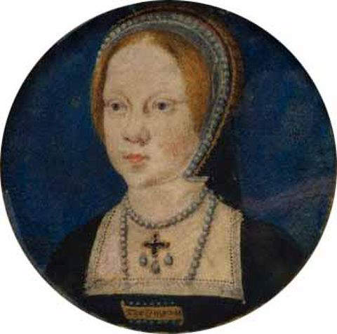 Mary Tudor at the age of six years