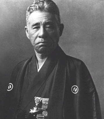 Mikimoto Kokichi, father of the modern cultured pearl industry, who was also the first to culture black pearls in 1931