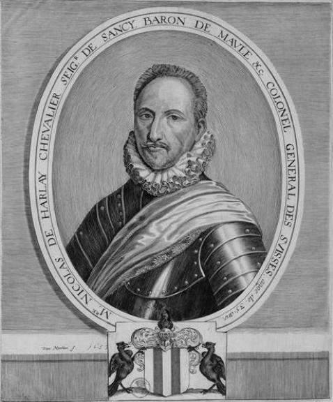 Nicolas de Harlay, Seigneur de Sancy