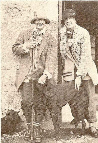Photograph of Coco Chanel and Vera Bert Lombardi taken in 1925