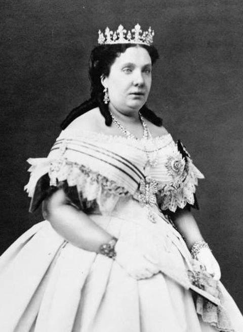 Photograph of Queen Isabella II of Spain