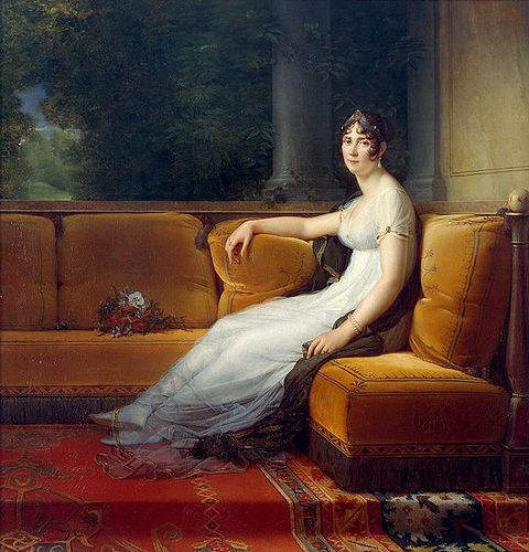 Portrait of Empress Josephine in 1801 by Francois Gerard