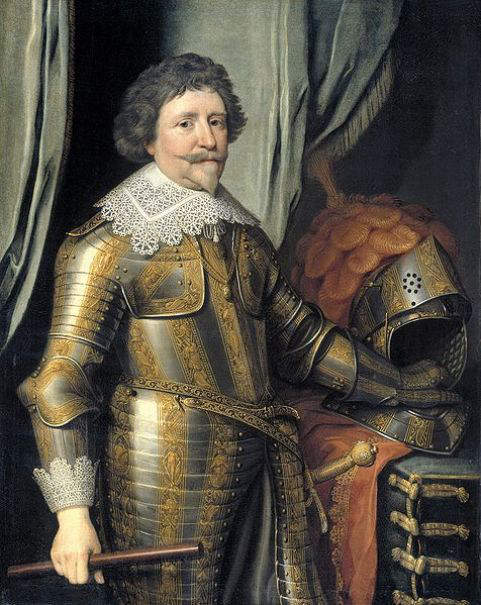 Portrait of Frederick Henry, Prince of Orage and Stadtholder of the United Provinces of Netherlands from 1625 to 1647