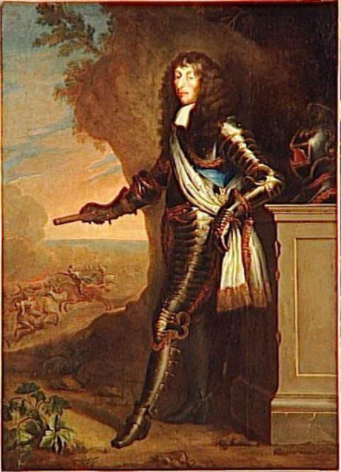 Portrait of Louis II de Bourbon - the Prince of Conde