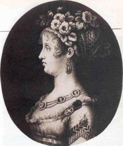 Portrait of Maria Antonia of Naples and Sicily, Princess of Asturias, by unknown artist