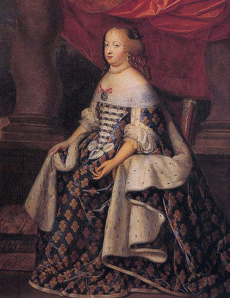 Portrait-of-Maria-Theresa-Queen-of-France