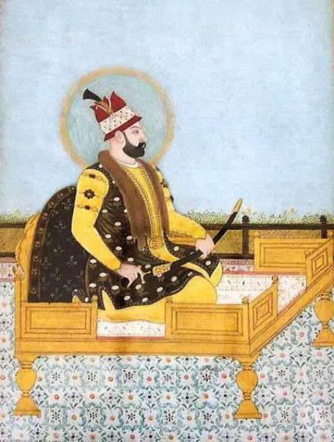 Portrait of Nader Shah Afshar