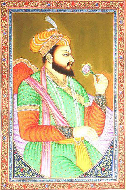 portrait-of-shah-jahan
