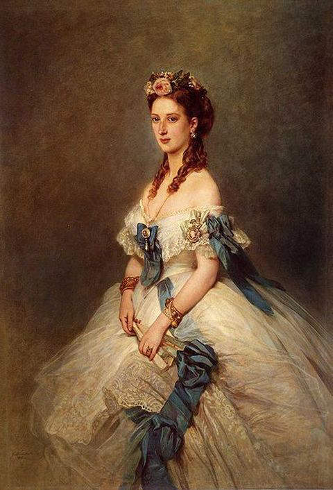 Princess Alexandra of Denmark, wife of Prince Albert Edward, and the Princess of Wales, in 1864
