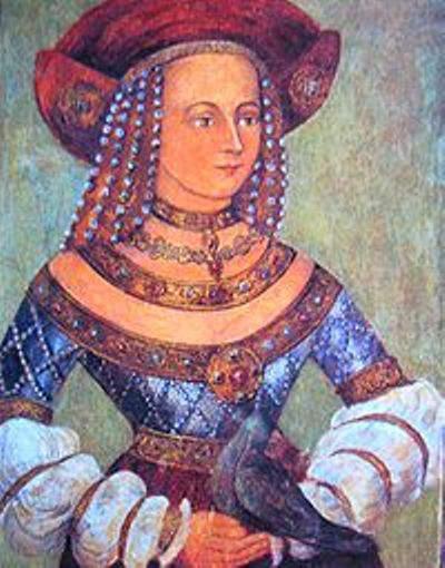 Princess Hedwig Jagiellon daughter of King Casimir IV of Poland