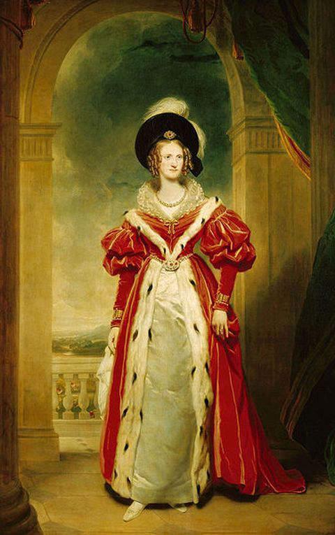 Queen Adelaide in 1836
