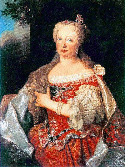 Queen Maria Anna of Portugal in her later years