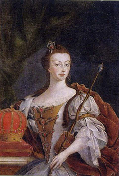 Queen Dona Maria I of Portugal - First Queen regnant of Portugal