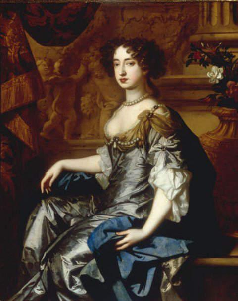 Queen Mary II, co-ruler of England, Scotland and Ireland with King William III, Prince of Orange