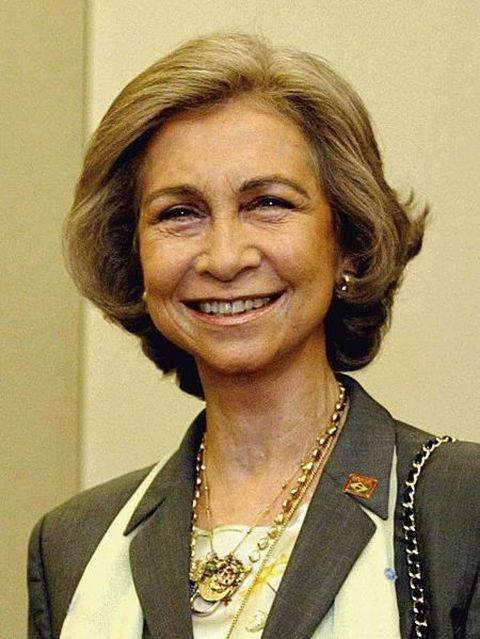 Queen Sofia of Spain - Wife and Queen consort of King Juan Carlos I of Spain