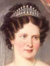 Queen Therese of Bavaria, wearing the Bavarian Lovers Knot Tiara