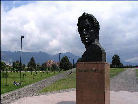 Simon Bolivar Park, Bogota ,Colombia