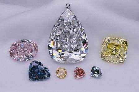 Splendour of diamonds exhibit