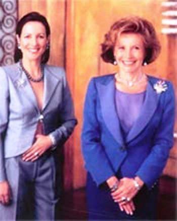 Talila (Left) and Ella Gafter of Ellagem Inc. NY