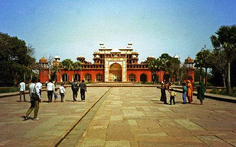 The Tomb of Akbar the Great at Agra