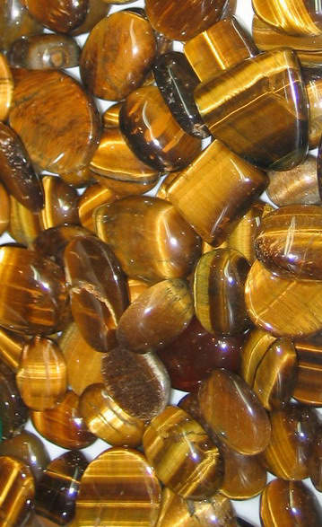 Polished Tiger Eye Gemstones