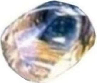 Amarillo Starlight rough diamond - Enlarged