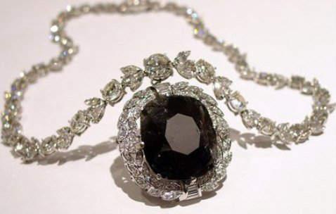 Cartier's Black Orloff Diamond Necklace