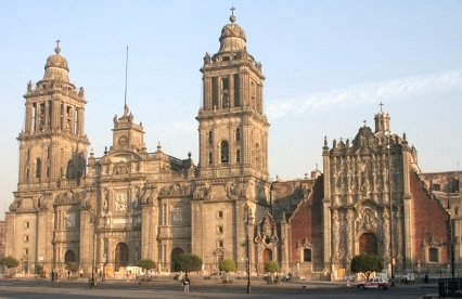 Cathedral de Mexico, where Maximilian and Carlota planned to be crowned in 1864