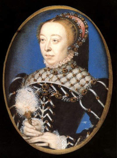 Catherine de Medici - Wife and Queen consort of King Henry II of France (1547-1559)