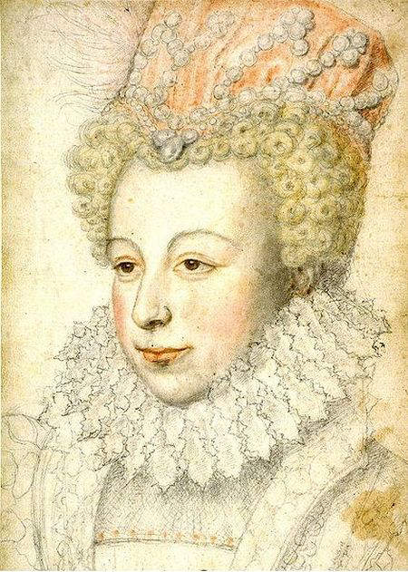 Portrait of Margaret of Valois by unknown author