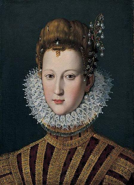 Contemporary portrait of young Marie de Medici