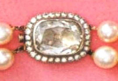 The Clasp of the Countess Mona Von Bismarck Two-Strand Pearl Necklace