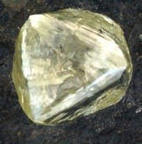 The Kimberley Octahedral diamond is the largest naturally formed octahedral diamond crystal discovered in the world, in the Dutoitspan Mine, one of the diamond mines situated in the Kimberley region of South Africa.